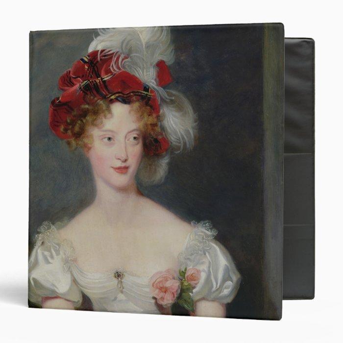 La Duchesse de Berry  c.1825 3 Ring Binder