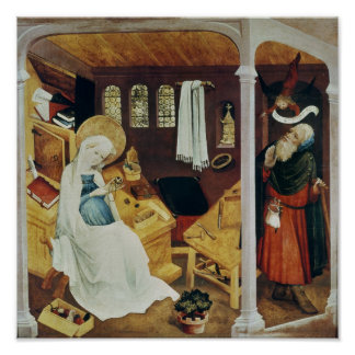 La duda de San José, c.1410-20 Poster