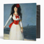 "La duquesa de Alba, 1795 Carpeta 1 1/2"""