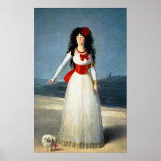 La duquesa de Alba, 1795 Poster