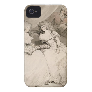 La duquesa de Devonshire y su hermana, el Coun iPhone 4 Case-Mate Protectores