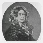 La duquesa de Kent Pegatina Cuadrada