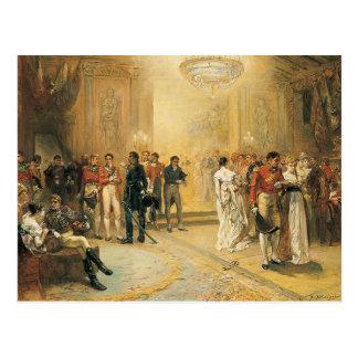 La duquesa de la bola de Richmond en 1815 Postales