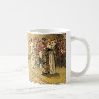La duquesa de la bola de Richmond en 1815 Taza