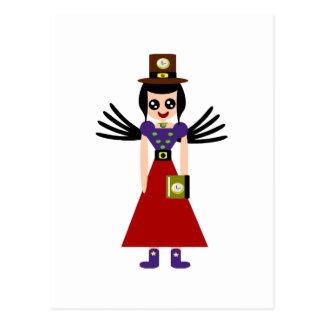 La duquesa levemente de malos resultados del tiemp tarjetas postales