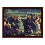 La duquesa Of Angulema se embarca en Pauillac Tarjetas Postales