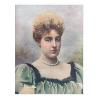 La duquesa Of Aosta Postal