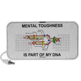 La dureza mental es parte de mi DNA Altavoz De Viaje