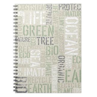 La ecología redacta el cuaderno