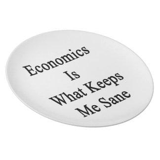 La economía es qué me mantiene sano