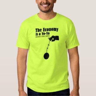 la economía es un yoyo polera