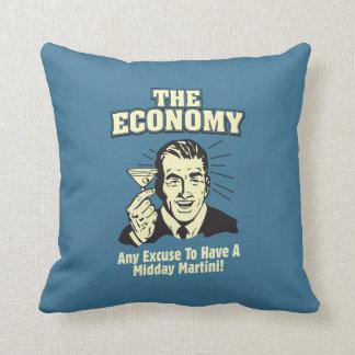 La economía: Mediodía Martini Cojin