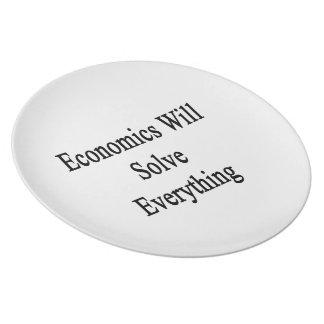 La economía solucionará todo