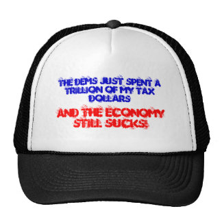 ¡La economía todavía chupa! Gorros
