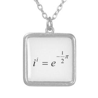 La ecuación más hermosa de la matemáticas colgante cuadrado