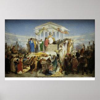 La edad de Augustus, nacimiento de Cristo por Gero Póster