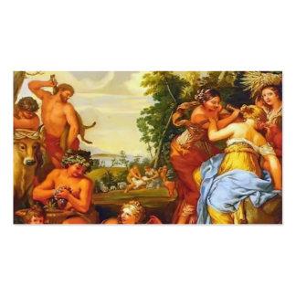 La edad de cobre de Pietro da Cortona Plantillas De Tarjeta De Negocio