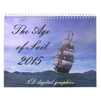 La edad de la vela, 2014 calendario de pared