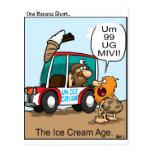 La edad del helado tarjetas postales