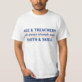 La edad y la traición triunfarán siempre sobre la playera