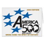 La edición 2009 del cumpleaños America500 trae a c Tarjetas