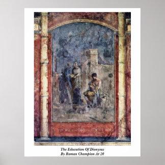 La educación de Dionysus del campeón romano en 20 Impresiones
