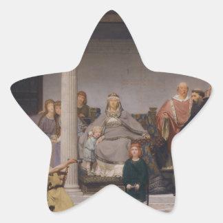 La educación de los niños de Clovis Pegatina En Forma De Estrella