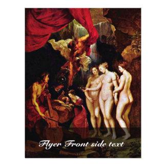 La educación de Maria de Rubens Peter Paul Tarjetas Informativas