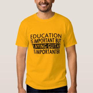 la educación es importante, playera