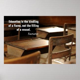 La educación es…. póster