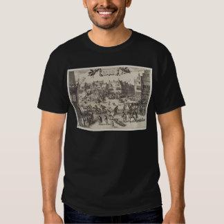 La ejecución de Guy Fawkes Camisas