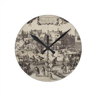 La ejecución de Guy Fawkes Reloj