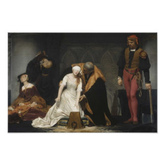 La ejecución de señora Jane Grey Impresiones