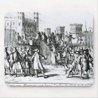 La ejecución del duque de Monmouth Alfombrillas De Ratón