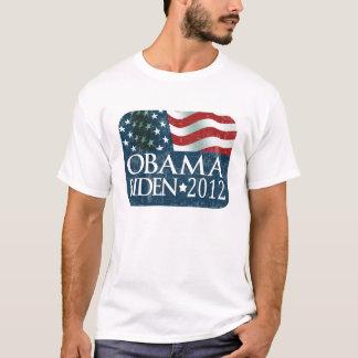 La elección 2012 de Obama Biden se descoloró Playera