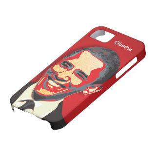 La elección presidencial Apple rojo de Obama iPhone 5 Fundas