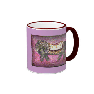 La Elefante Ringer Mug