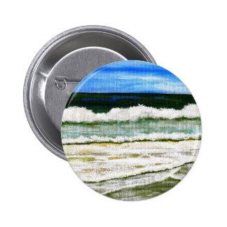La elegancia del océano - arte de la playa de la r pins