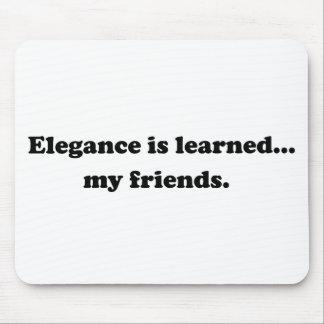 La elegancia es docta… Mis amigos Tapete De Ratón