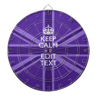 La elegancia púrpura guarda calma su texto Union