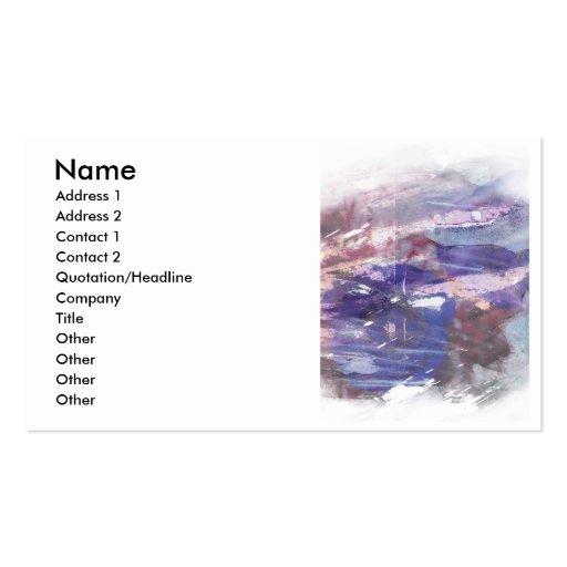 La elevación abstracta del tinte de un rosa imprim plantillas de tarjetas personales