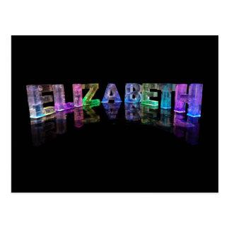 La Elizabeth conocida en 3D se enciende (la Tarjetas Postales