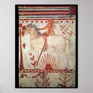 La emboscada del príncipe Trojan Troilus Póster