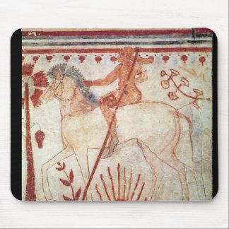 La emboscada del príncipe Trojan Troilus Alfombrillas De Ratones
