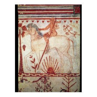 La emboscada del príncipe Trojan Troilus Postales