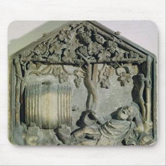 La embriaguez de Noah, decorativo hexagonal Tapetes De Ratones