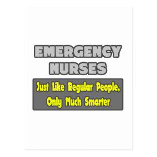 La emergencia cuida… más elegante tarjetas postales
