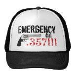 ¡La emergencia marca .357!!!  Arma 357 Gorro De Camionero