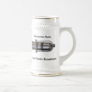 La emisión de radio Stein de Fluet de la marca Tazas