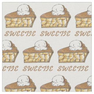 La empanada Apple del Sweetie corta la tela del Telas